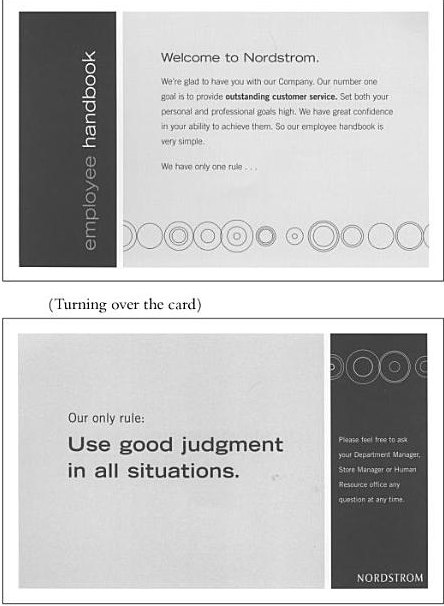 Nordstrom_Employee_Handbook Template For Employee Feedback on crew members, can grow business, keys effective, that are shy, form template excel,