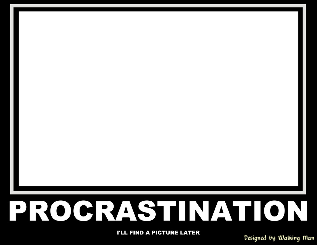 beat procrastination and finish your work
