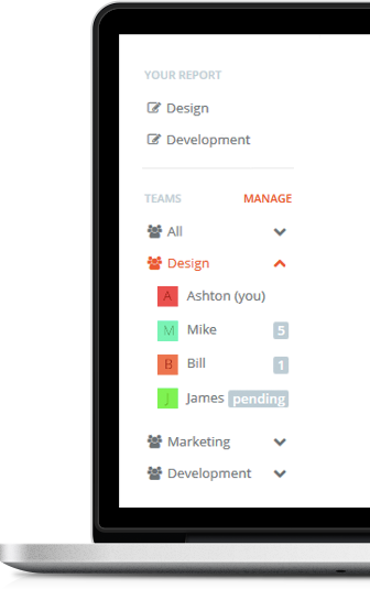 Weekdone goes enterprise: multiple reports per person