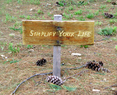 Simplify your week. Be happy.