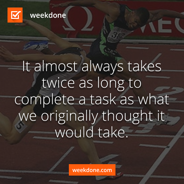 Finish the tasks quicker with Weekdone