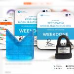 Weekdone wins the secure mobile e-service award