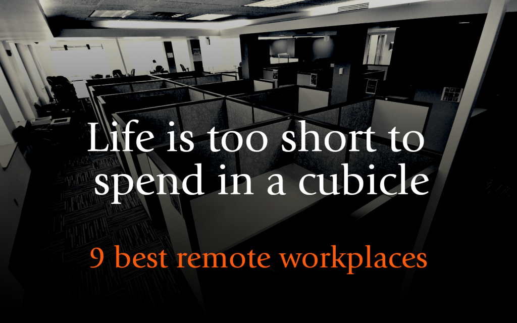9 Best remote workplaces - Cubicle