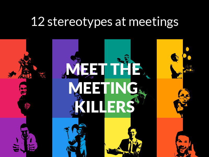 How to Deal with 12 Bad Stereotypes at Meetings?