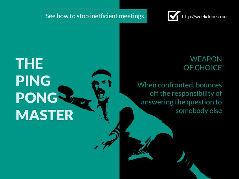 Stereotypes at Meetings