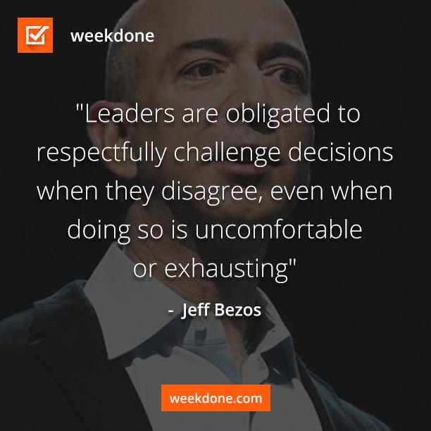 Bezos-efficient meetings