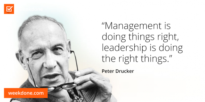 Peter Drucker - management