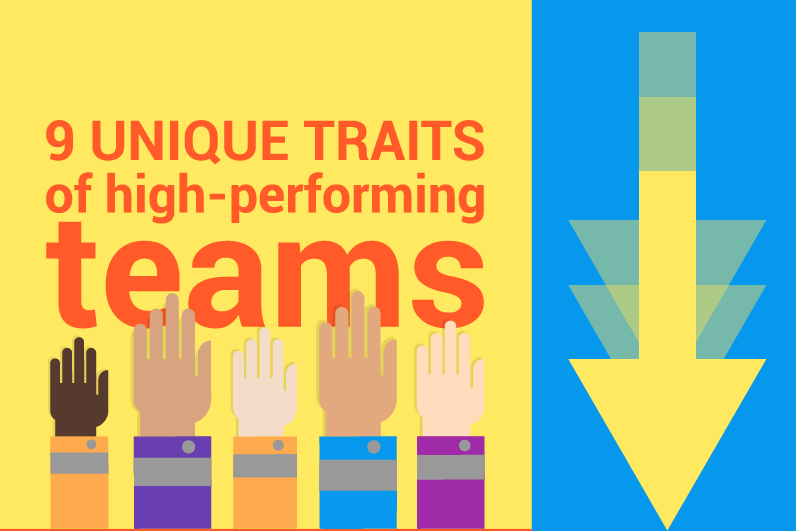 9 unique traits of high performing teams  infographic