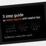 3 Step Guide to Status Reports