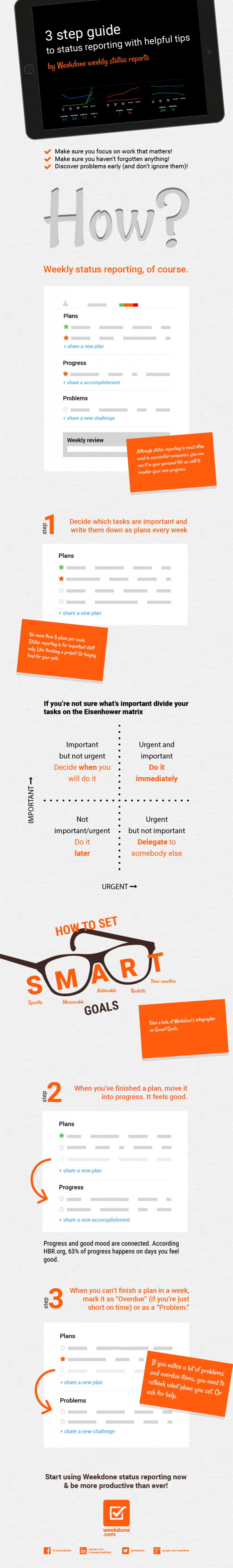 Guide to Status Reporting_infograph