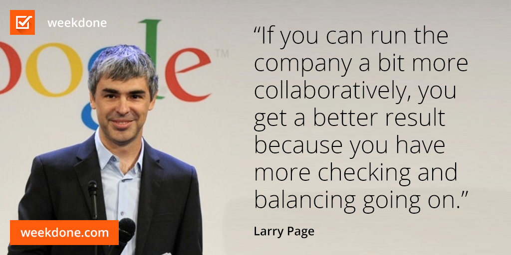Larry Page - collaboration