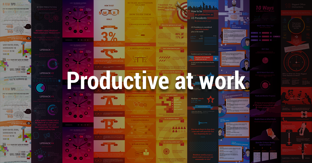 10 Infographics That Make You More Productive at Work