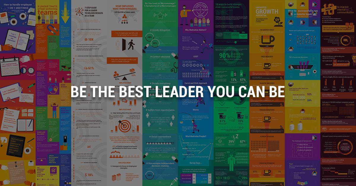 10 Infographics That Will Make You a Better Leader