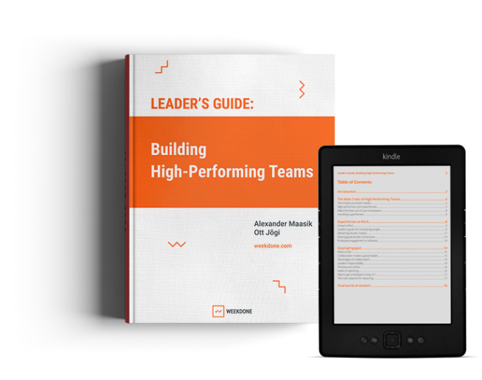 Leader's Guide: Building High-Performing Teams e-book.