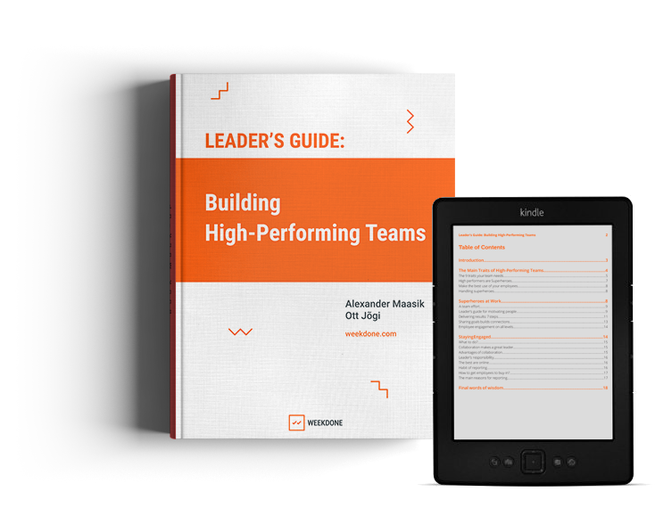 Making sure you run High-Performing teams (checklist).