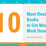 10 Must Read Books to Get More Work Done [Infographic]