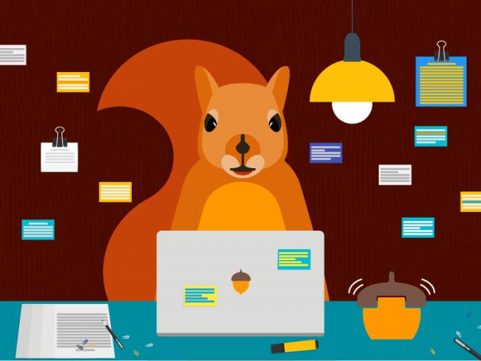 Productivity Squirrel.