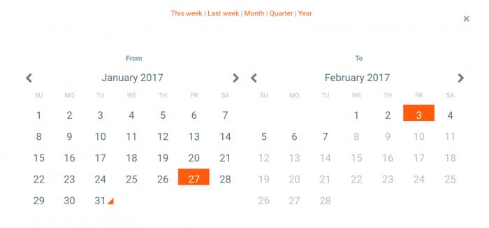 Calendar WD