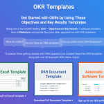 OKR Templates - (Free Excel and Word Templates)