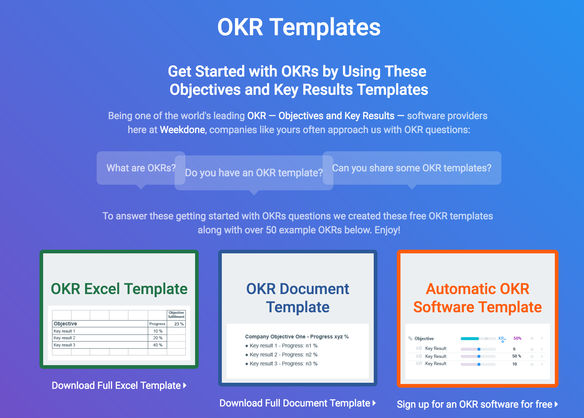 OKR Templates & Examples - How to Write Great Objectives and Key ...