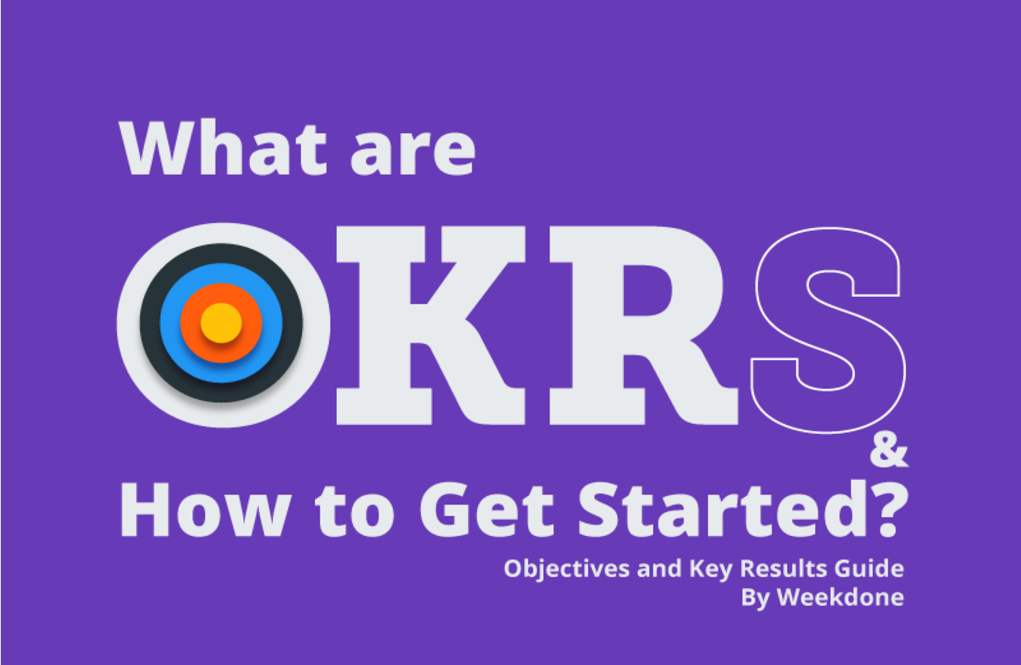 Objectives and Key Results - Easier than Ever in Weekdone
