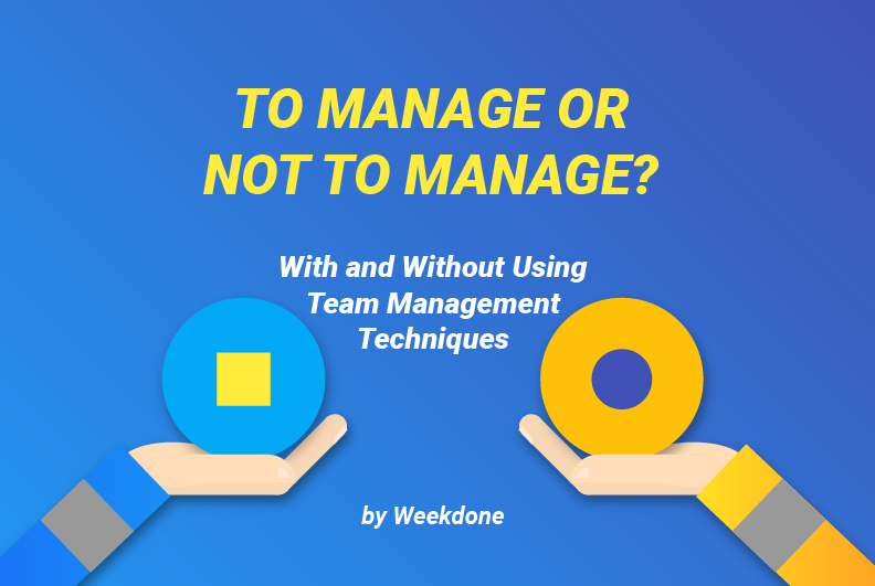 To Manage or not to Manage a Team? [Infographic]