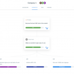 Recent new features in Weekdone - OKR Hierarchy view and more