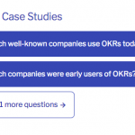 Are there good case studies of implementing OKRs?