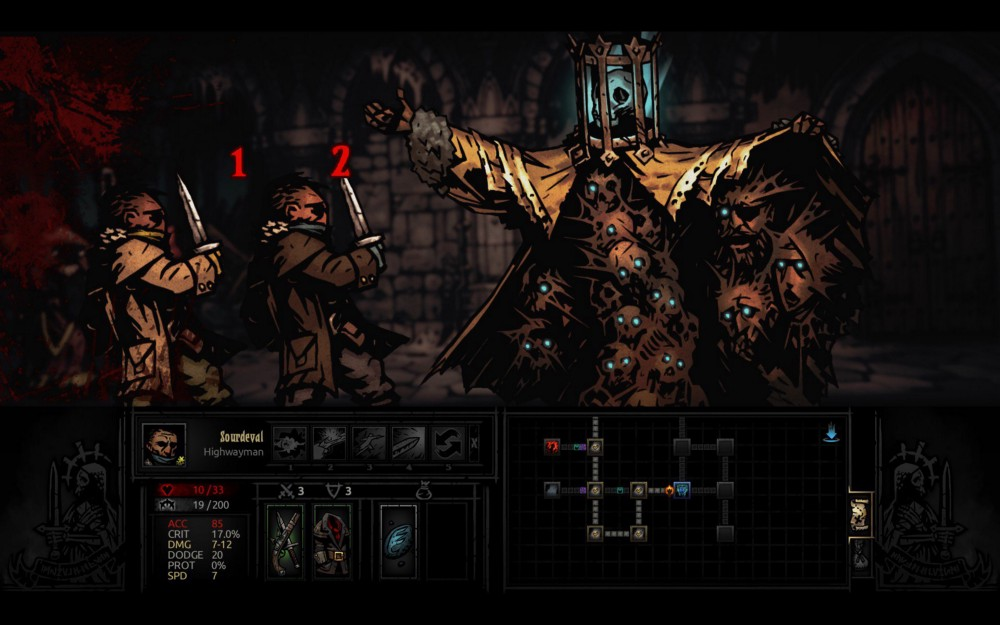 A lot of Content with Little Time. Thanks to The Darkest Dungeon.