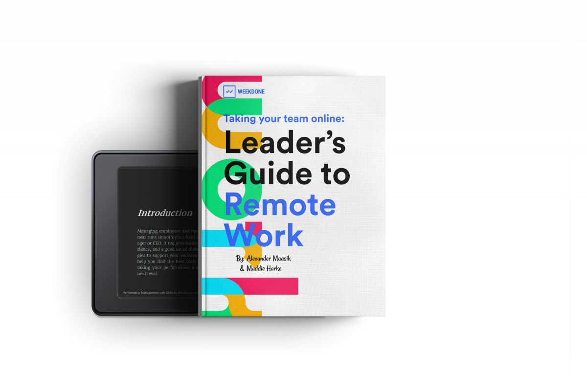 Books and Guide to Remote Work  for Leaders