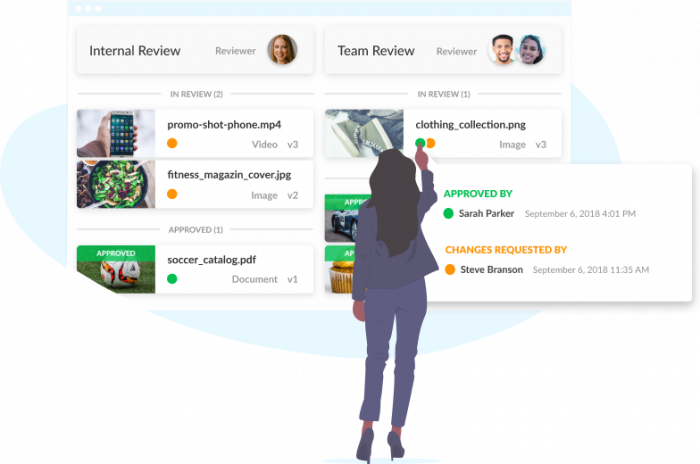 marketing project management software filestage