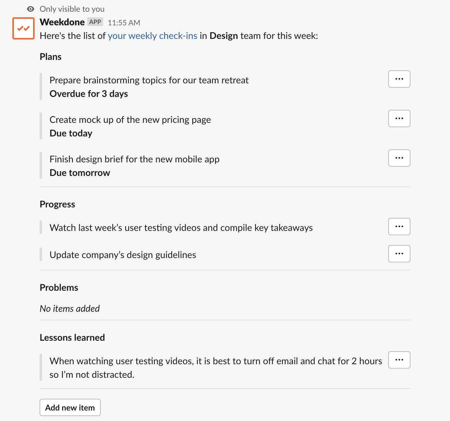 Slack Integration Improved